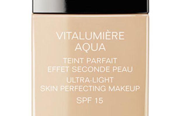 Chanel Vitalumiere Aqua Ultra-Light Skin Perfecting Sunscreen Makeup SPF 15