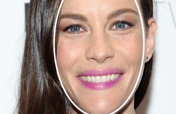 Liv Tyler long face