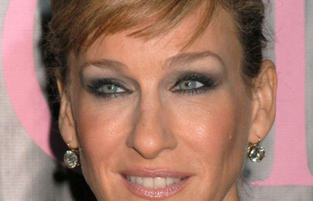 Sarah Jessica Parker long face bangs