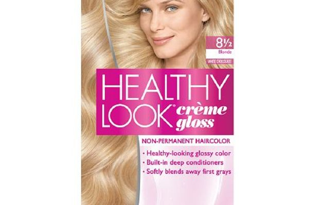 L'Oreal Paris Healthy Look Creme Gloss 8 1:2 Blonde White Chocolate