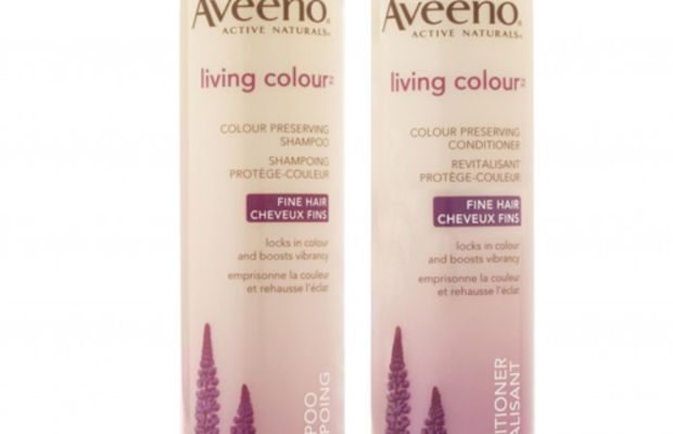 Aveeno-Living-Colour-Shampoo-and-Conditioner-for-Fine-Hair