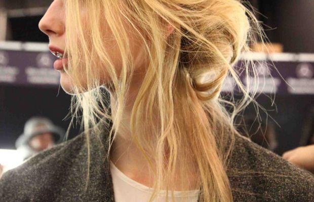 Rebecca Minkoff - Fall 2012 hair
