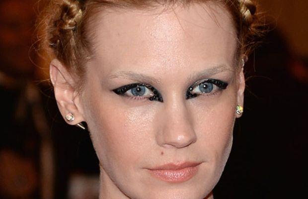 January Jones - Met Ball 2013 makeup