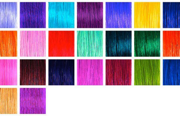 SO.CAP Fantasy Colour Hair Extensions