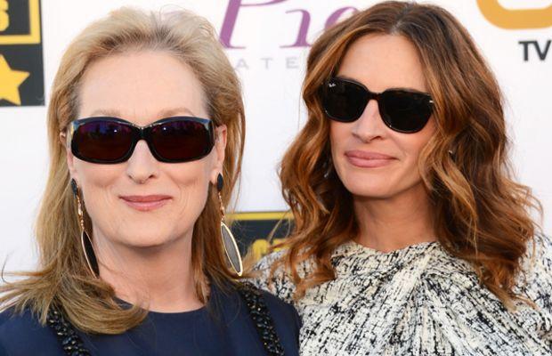 Meryl Streep and Julia Roberts, Critics' Choice Awards, 2014
