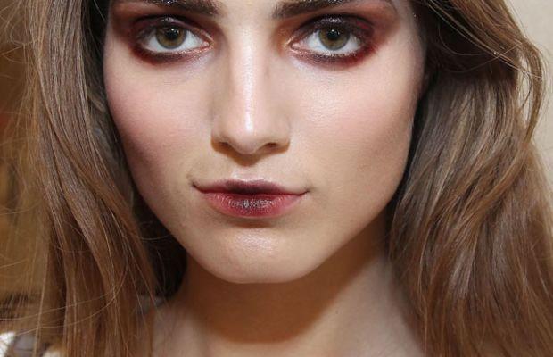 Oscar de la Renta Fall 2013 makeup