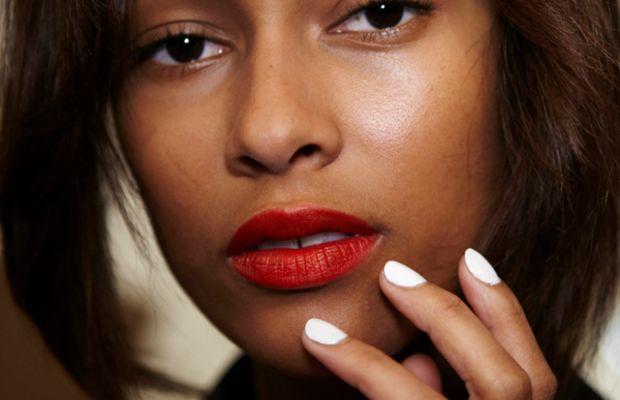 Nanette Lepore Spring 2014 nails