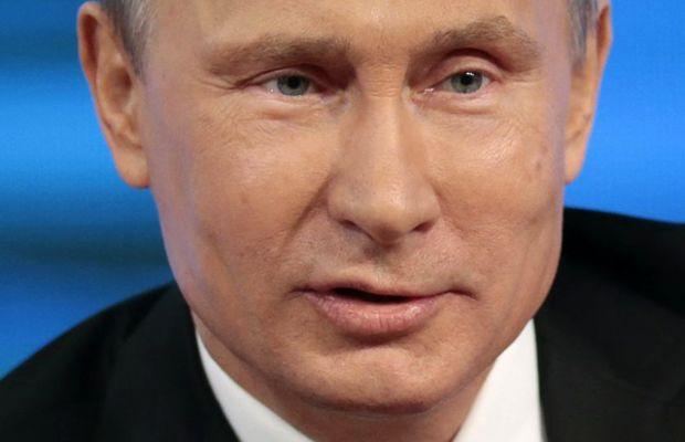 Vladimir Putin Botox and filler