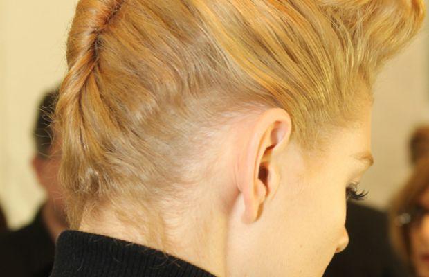 Badgley Mischka - Fall 2013 hair