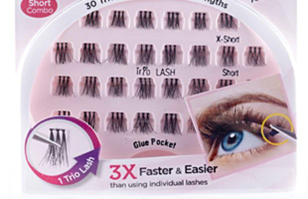 Kiss Ever EZ Lashes Trio Lashes