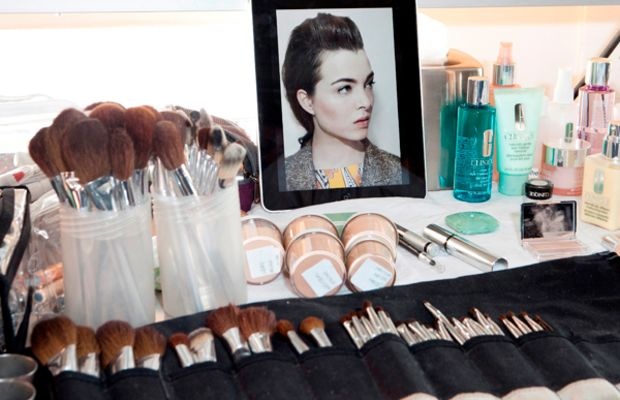 Jenna Menard's Makeup Station at KW FW12