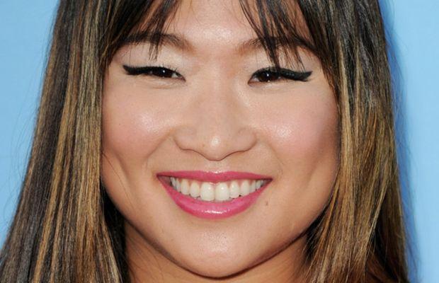 Jenna Ushkowitz pear face bangs