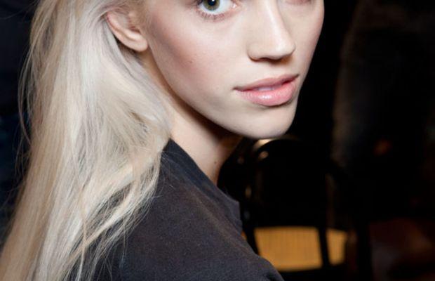 Devon Windsor platinum blonde hair