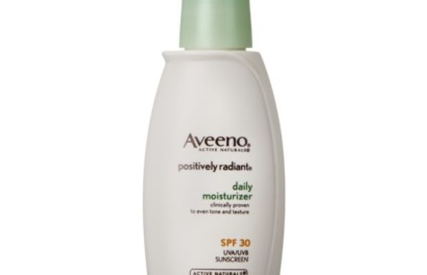 Aveeno Positively Radiant Daily Moisturizer Broad Spectrum SPF 30