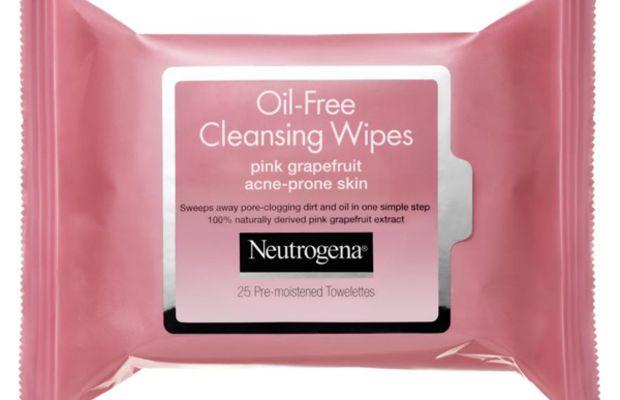 Neutrogena Pink Grapefruit Oil-Free Cleansing Wipes