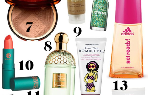 Brazil World Cup inspired beauty products