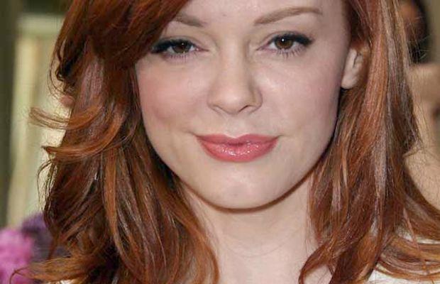 Rose McGowan red hair