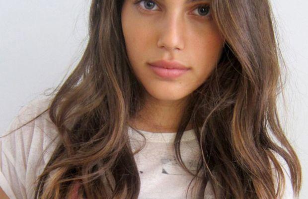 Shiloh Malka long brown hair