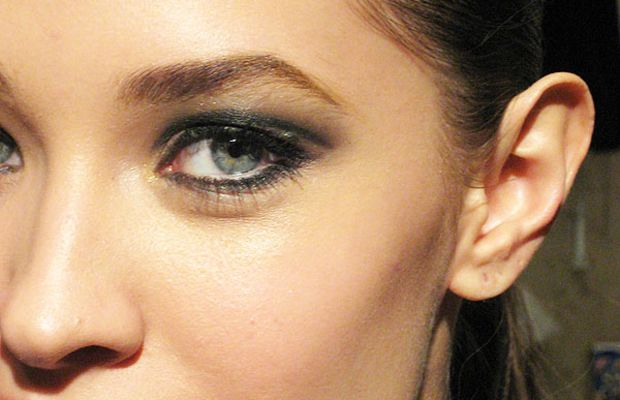 Green smoky eyes tutorial 2