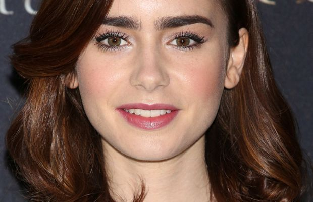Lily Collins - The Mortal Instruments City of Bones Mexico City photocall, 2013