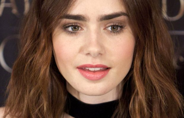 Lily Collins - The Mortal Instruments City of Bones Madrid photocall, 2013