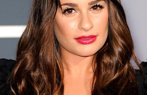 Lea-Michele-2011-Grammy-Awards