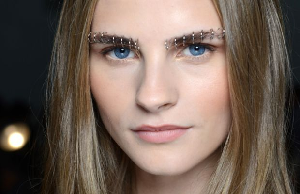 Rodarte Spring 2015 makeup