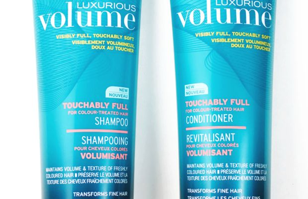 John Frieda Luxurious Volume Touchably Full Shampoo and Conditioner
