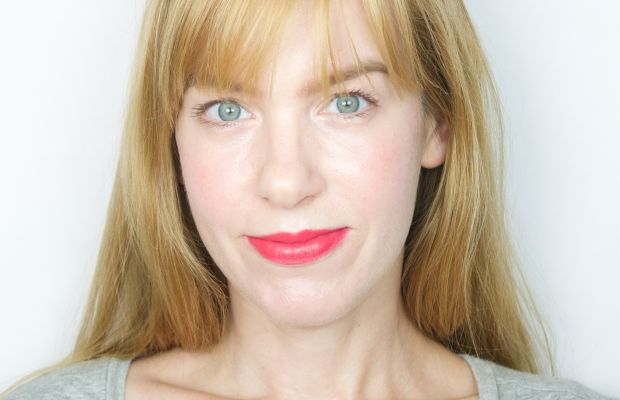 Marc Jacobs Kiss Pop in Wham 604 (on lips)