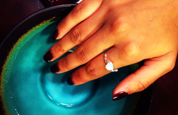 Speed up your mani with this cold water trick.