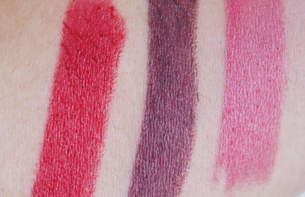 Rimmel Lasting Finish Kate Moss swatches