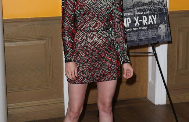Kristen Stewart, Camp X-Ray premiere, 2014