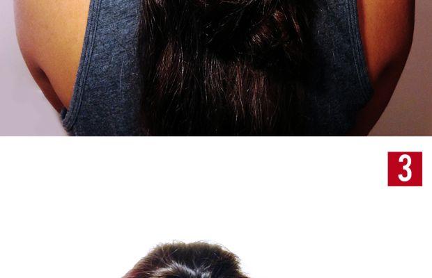 Volume ponytail trick