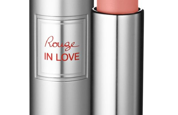 Lancome Rouge in Love Lipstick in Rose Tea