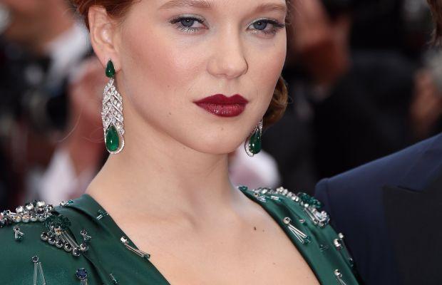 Lea Seydoux, Saint Laurent premiere in Cannes, 2014