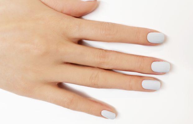 Bloody nail art step 1