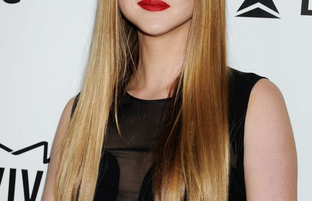 Devon Aoki long straight hairstyle