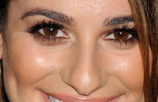 Lea Michele, amfAR Inspiration Gala, 2014