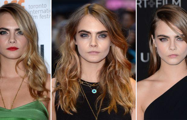 Cara Delevingne hair colour changes