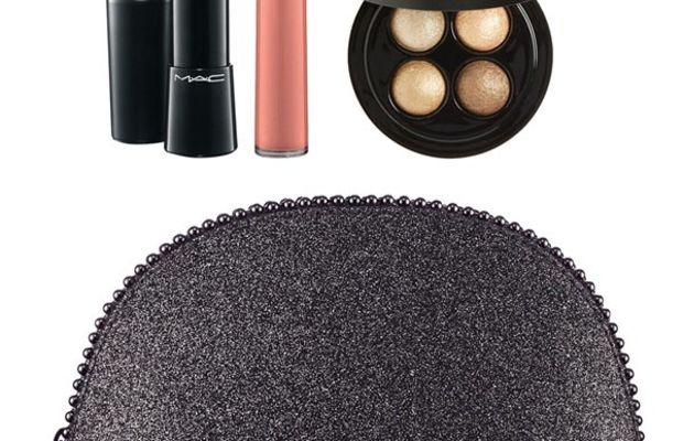 MAC Keepsakes Gold Lip & Eye Bag