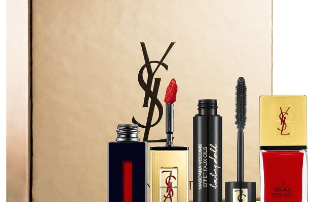 Yves Saint Laurent Love And Lacquer Reds Set