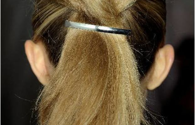 Marc by Marc Jacobs Spring 2012 hair