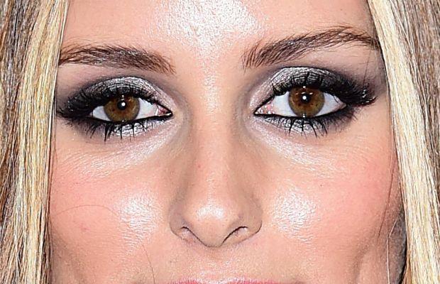 Olivia Palermo, Victoria's Secret Fashion Show after-party, 2014 (close-up)
