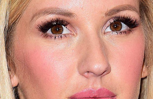 Ellie Goulding, Victoria's Secret Fashion Show after-party, 2014 (close-up)