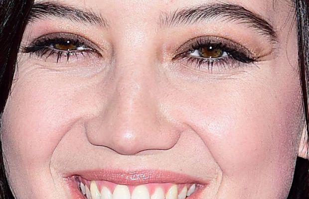 Daisy Lowe, Victoria's Secret Fashion Show after-party, 2014 (close-up)