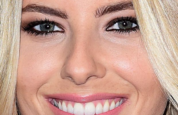 Mollie King, Victoria's Secret Fashion Show after-party, 2014 (close-up)