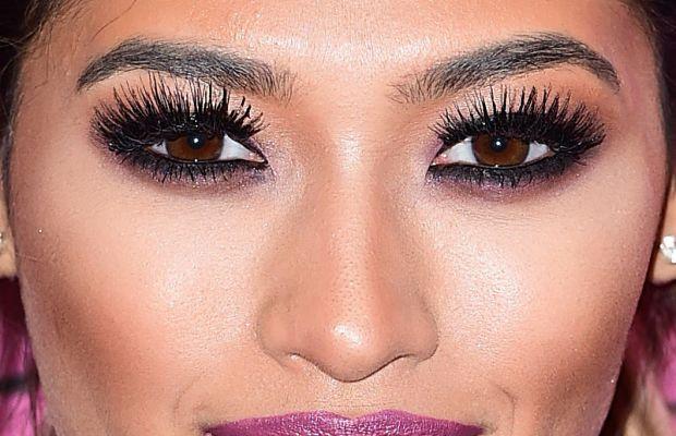 Vanessa White, Victoria's Secret Fashion Show after-party, 2014 (close-up)