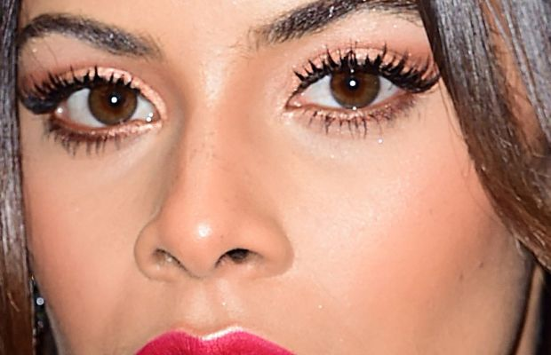 Rochelle Humes, Victoria's Secret Fashion Show after-party, 2014 (close-up)