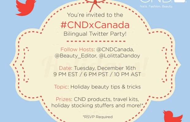 CND Twitter Party invite