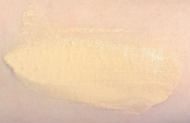 NARS All Day Luminous Weightless Foundation (unblended and spread)